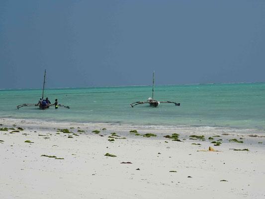 Fischerboote auf Sansibar