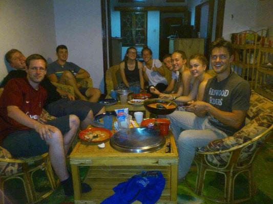ETWAS scharfes Curry mit Reis - zubereitet von der Jungskochgruppe ;)
