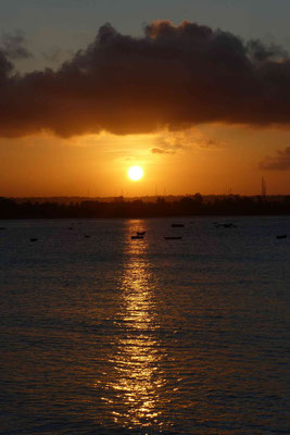 Sonnenuntergang in Dar