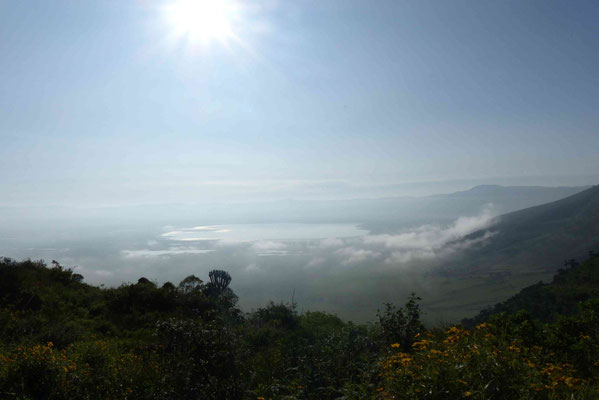 Ngorongoro-Krater im Morgenlicht 2