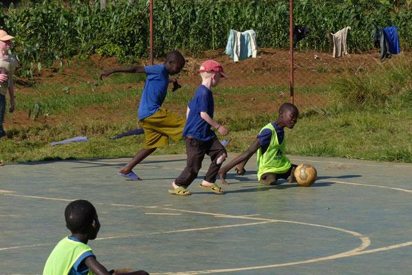 Fußball an der Mseto.