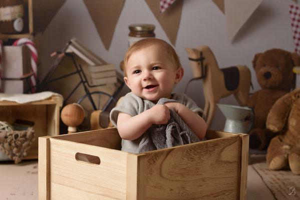séance photo bébé sitter