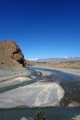 Seitenstrang eines Flusses