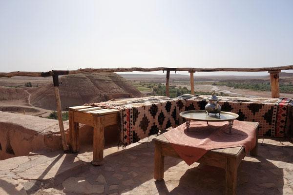 Terrasse in der Kasbah
