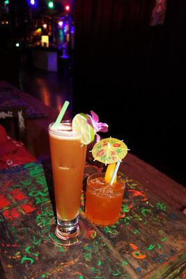 Unsere zwei Cocktails