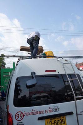 Minivan von Pai nach Chiang Mai