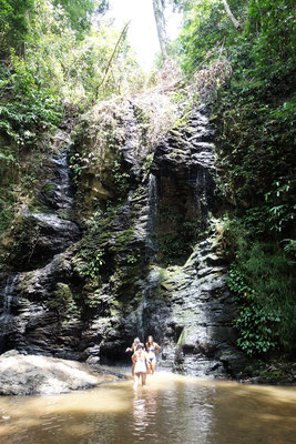 Ein versteckter Wasserfall