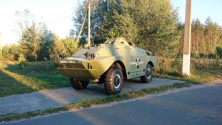 Panzerfahrzeug von Chernobylwel