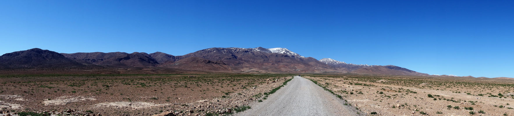 Blick aufs Atlasgebirge