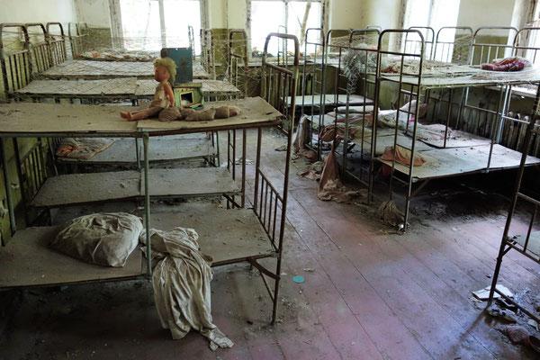Schlafzimmer im Kindergarten