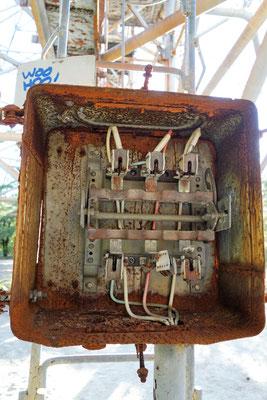 Sicherungskasten vom Duga Radar