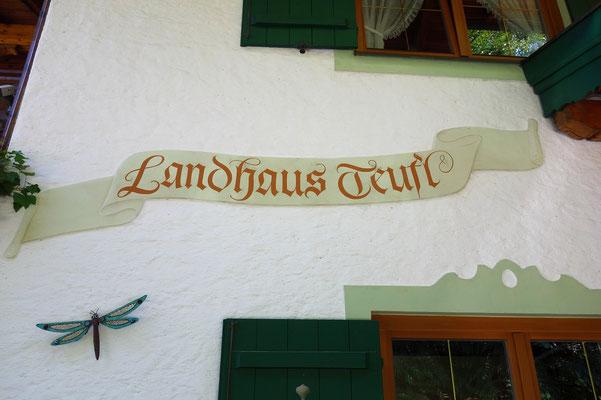 Der Name des Landgasthofes