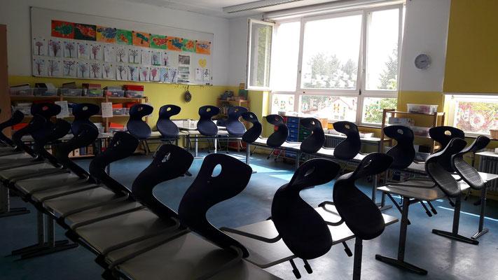 Raumkonzept eines Klassenzimmers