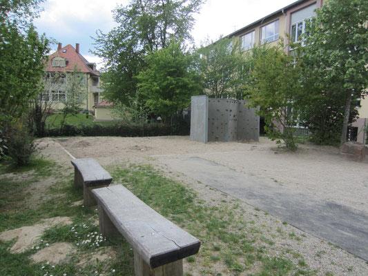 Kletterbereich - hinterer Pausenhof