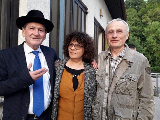 Mit Slavko Ninic (Tschuschenkapelle) und Ulli