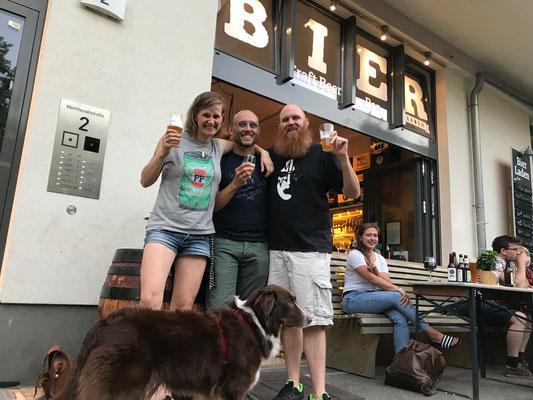 Biertasting Bierladen Berlin - Biersommelier.Berlin - Karsten Morschett