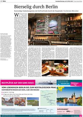 Biertasting und Bierseminare - live und digital - biersommelier.berlin - Biersommelier Karsten Morschett - neues Deutschland