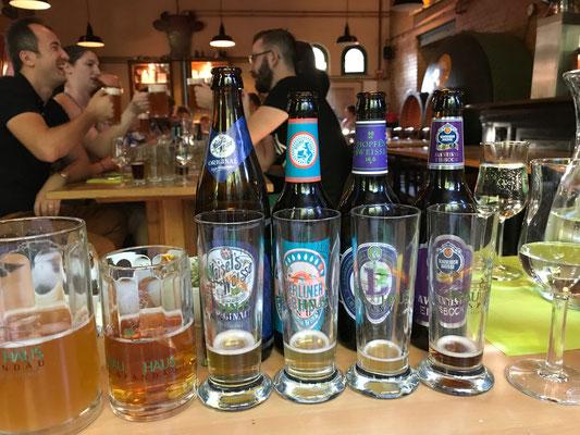 Biertasting Live - Brauhaus Spandau - Biersommelier.Berlin - Karsten Morschett