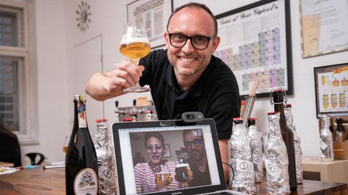 Bierverkostung Virtuell - Online - Biersommelier.Berlin - Karsten Morschett