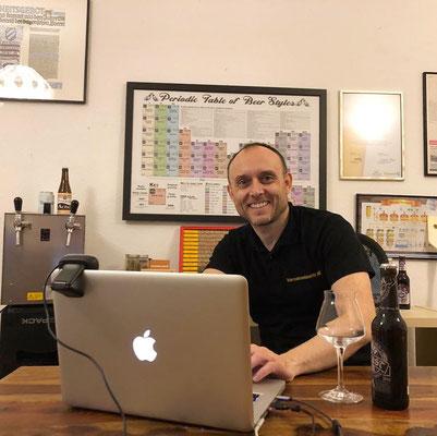 Bierverkostung: Digital - Biersommelier.Berlin - Karsten Morschett