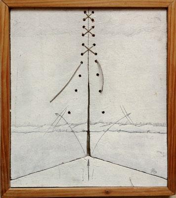 Sprengende Kraft, 19,5cm x 23cm