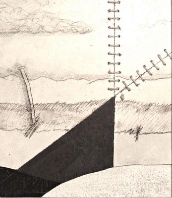 Kraftkeil mit Blei, 46cm x 36cm