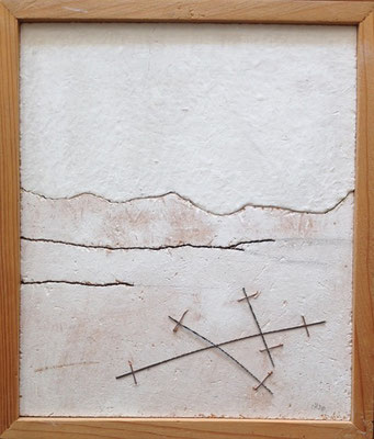 Landschaft mit Werkzeug, 19,5cm x 23cm