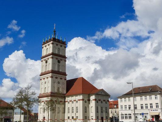 Stadtkirche Neustrelitz Ostermontag