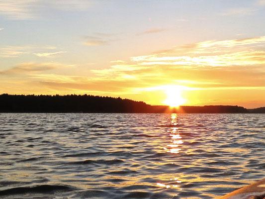 Sonnenaufgang Drewensee