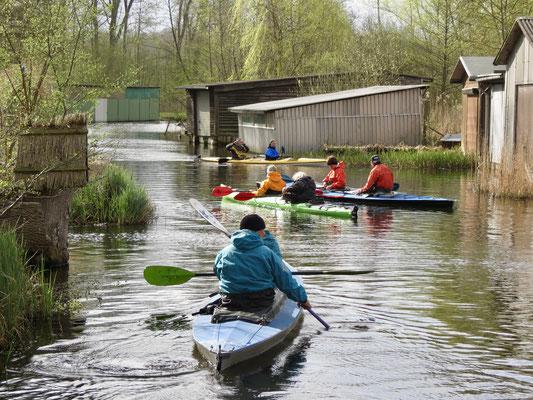 Ostern paddeln Ferienhaus mieten Havel Drewensee