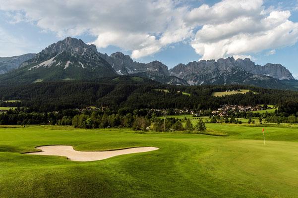 27 Loch Golfanlage in Ellmau