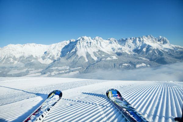 Skifahren in der Skiwelt Wilder Kaiser - Brixenthal