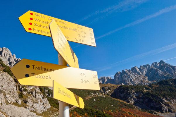 Ausgezeichnet mit dem Österreichischen Wandergütesiegel