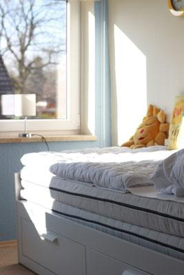 Schlafzimmer zum Doppelzimmer erweiterbar