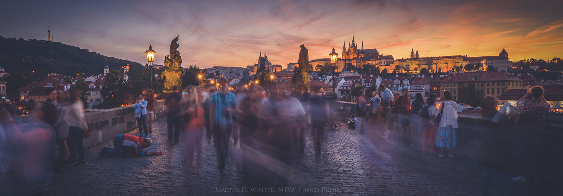 Charles Bridge - Prag - Juni 2017 / Czech