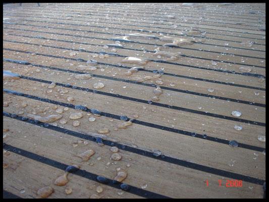 Nanoprotect Teakdeckschutz - Wasserabweisende Imprägnierung mit Fleckenschutz