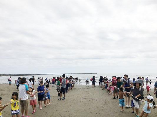 9月23日地曳網漁体験! 予想を超えてたくさんの魚がとれました!