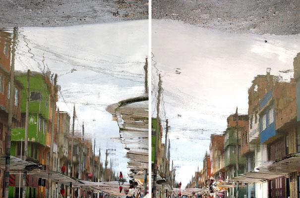 Mundos Ocultos. Fotografía digital. 43 cm X 65 cm. 2010.