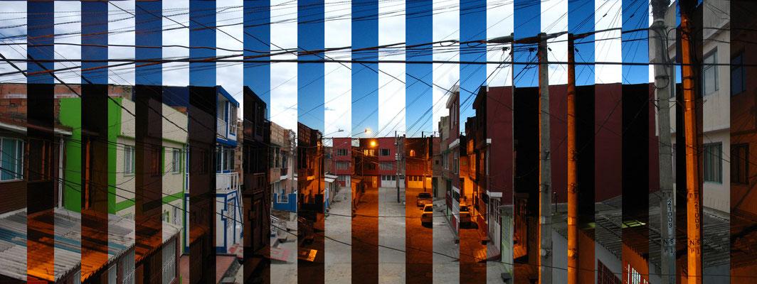 ClaroOscuro. Fotografía digital. 40 cm X 106.5 cm. 2009