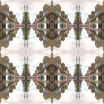 Calle sin fin. Fotografía digital. 50 cm X 50 cm. 2010.