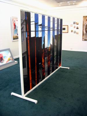 ClaroOscuro Interactivo. Fotografía digital, madera y estructura metálica. 180 cm X 250 cm. 2012