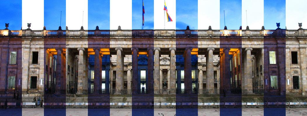 Luces y sombras. Fotografía digital. 40 cm X 106.5 cm. 2009.