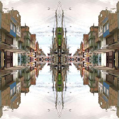 Paralelos. Fotografía digital. 50 cm X 50 cm. 2010.