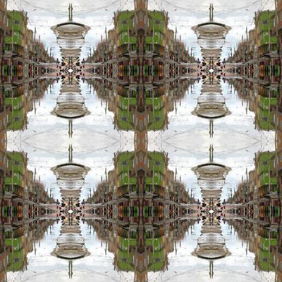 Al infinito. Fotografía digital. 50 cm X 50 cm. 2010.