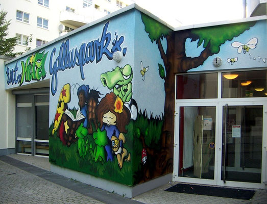 Internationale KITA [Kindergarten] Galluspark [Fundus Fonds GmbH], Frankfurt am Main 2008