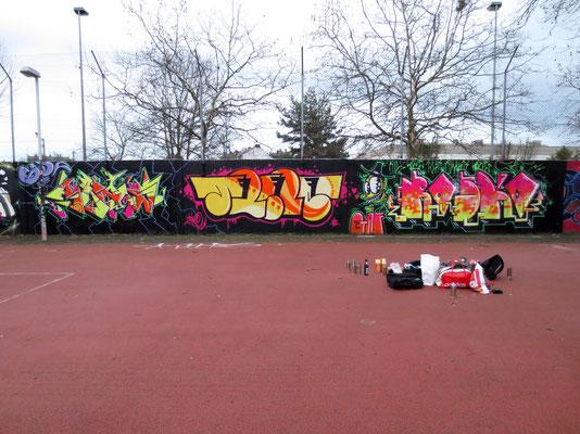 ARES, TRINE, ROSKO, Frankfurt 2014
