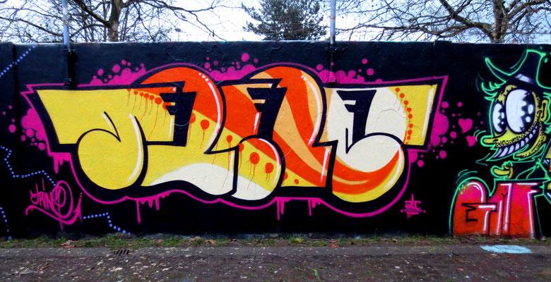 TRINE, ROSKO (Character) Frankfurt/M 2014