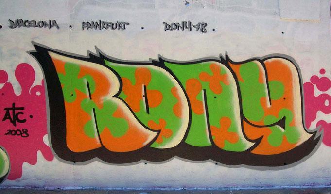 RONY, Barcelona 2008