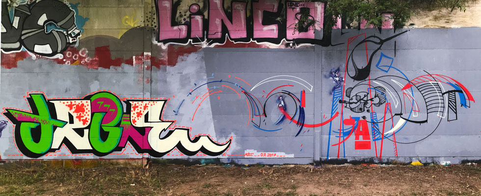 TRINE, Lincoln Wall, Darmstadt 2017