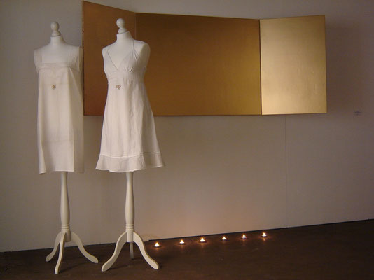 """25.08.78 [Amalie and me]"", 2007. Installation. mixed media."